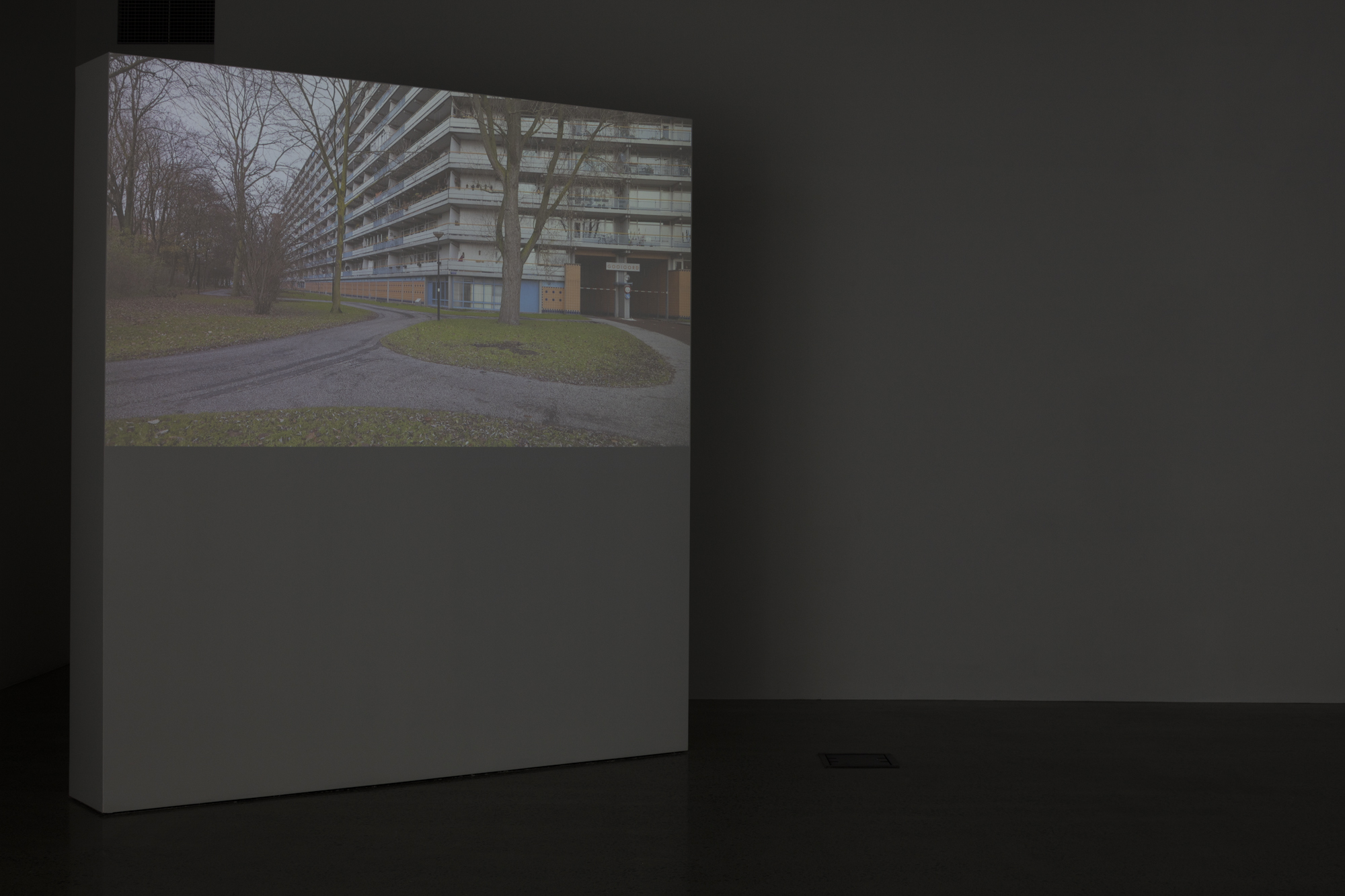 Dieneke Jansen, Bijlmermeer: Henno & Arjan (2014) Video projection, duration 34:02