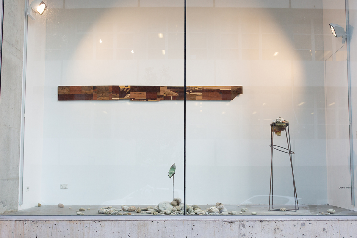 Installation view in Front Box