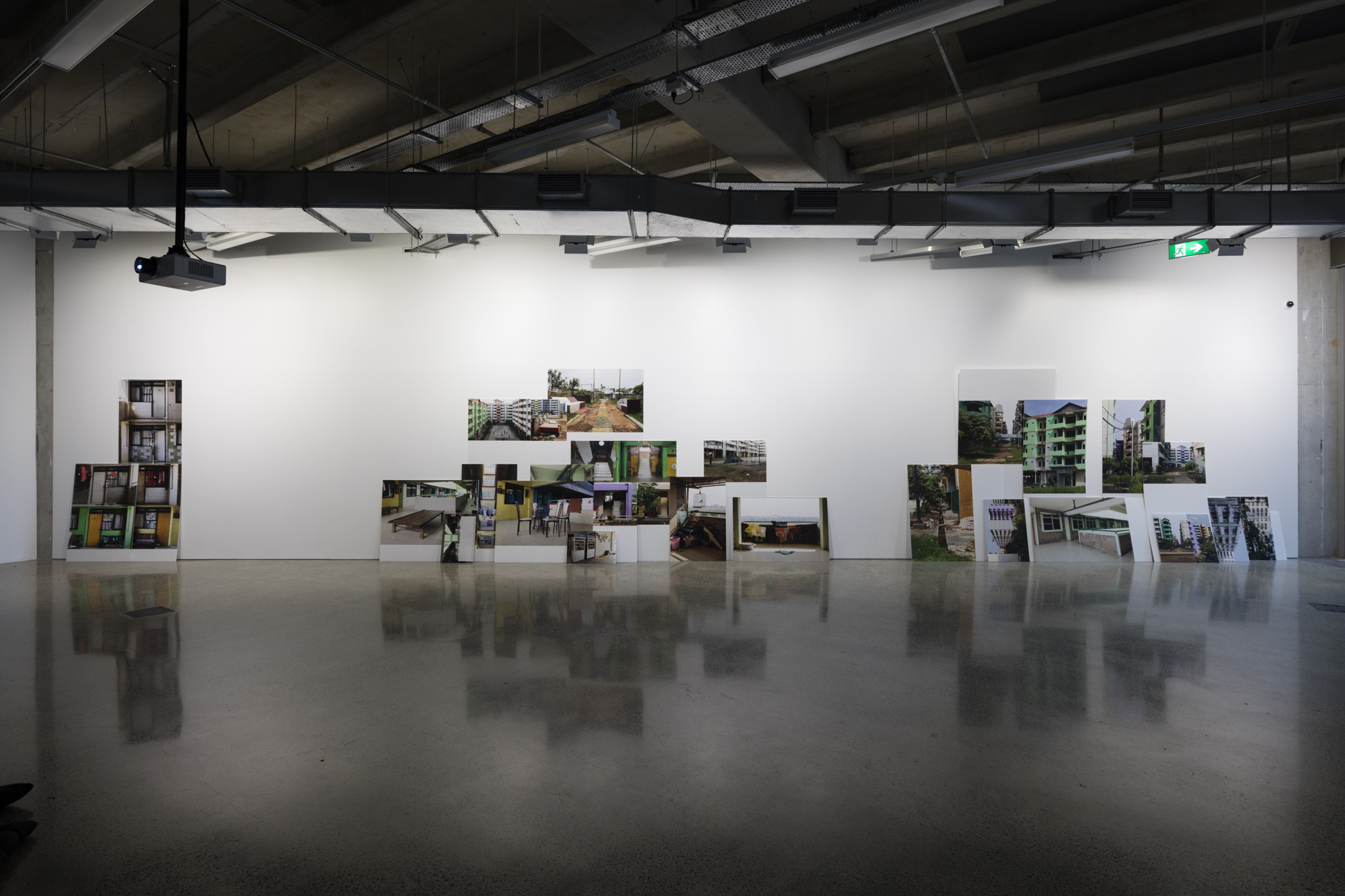 Dieneke Jansen, Jakarta: Real Estate (2015) 30 photographs on Corflute, dimensions vary